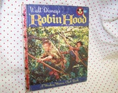 Vintage Robin Hood Children's Book Walt Disney Book Mickey Mouse Club Book