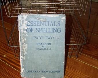 Vintage Spelling Book