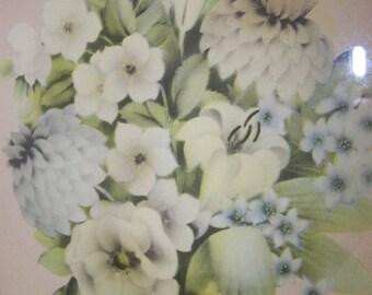 Shabby Print Framed Floral Print Framed Floral Print