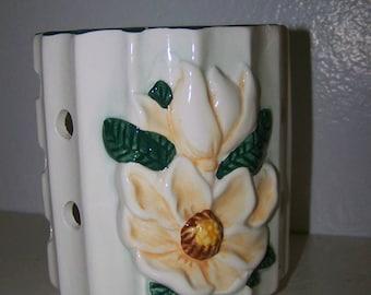 Shabby Planter Shabby White Vase White Flower Vase
