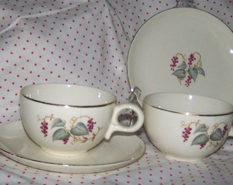 Shabby Chic Cups & Saucers China Teacups Saucers