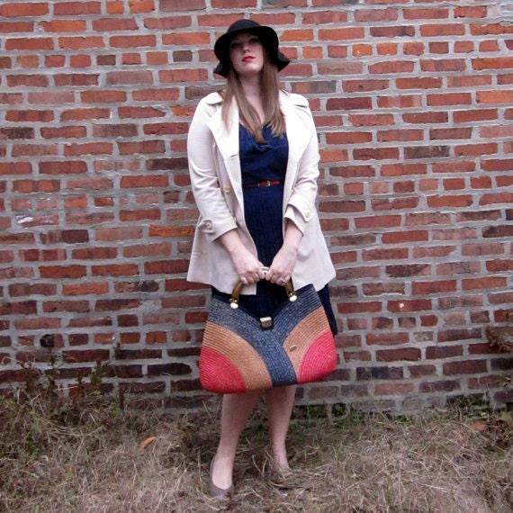 Beautiful & Rare Vintage Woven Pier Giorgio Bag