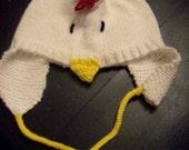Chicken Scratch Hat pattern