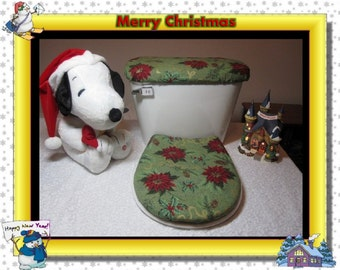 Christmas Toilet Covers (2 Piece)