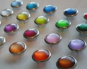 12  Pearl Snap Set - YOU CHOOSE COLORS -  4-Part Prong Size 16