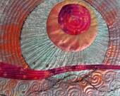 Sunset on the Cimarron  - An Art Quilt