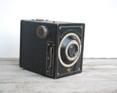 Agfa Ansco Camera 1930s Box Camera Shur Flash Antique photography prop