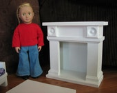 """Fireplace Doll Furniture for American Girl or other 18"""" doll - NOT AVAILABLE for pre-Christmas Delivery"""
