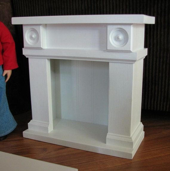 Fireplace Doll Furniture for American Girl or other 18