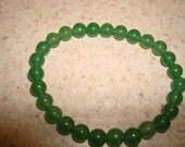 Semi precious green aventurine stone bracelet