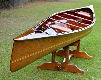 "Wood Song Canoes 19' 8"" ""Whistlewood"""