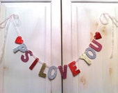 PS I Love You Banner -- Decoration / Photo Prop