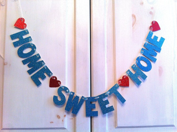 Home sweet home banner decoration photo prop for Home sweet home party decorations