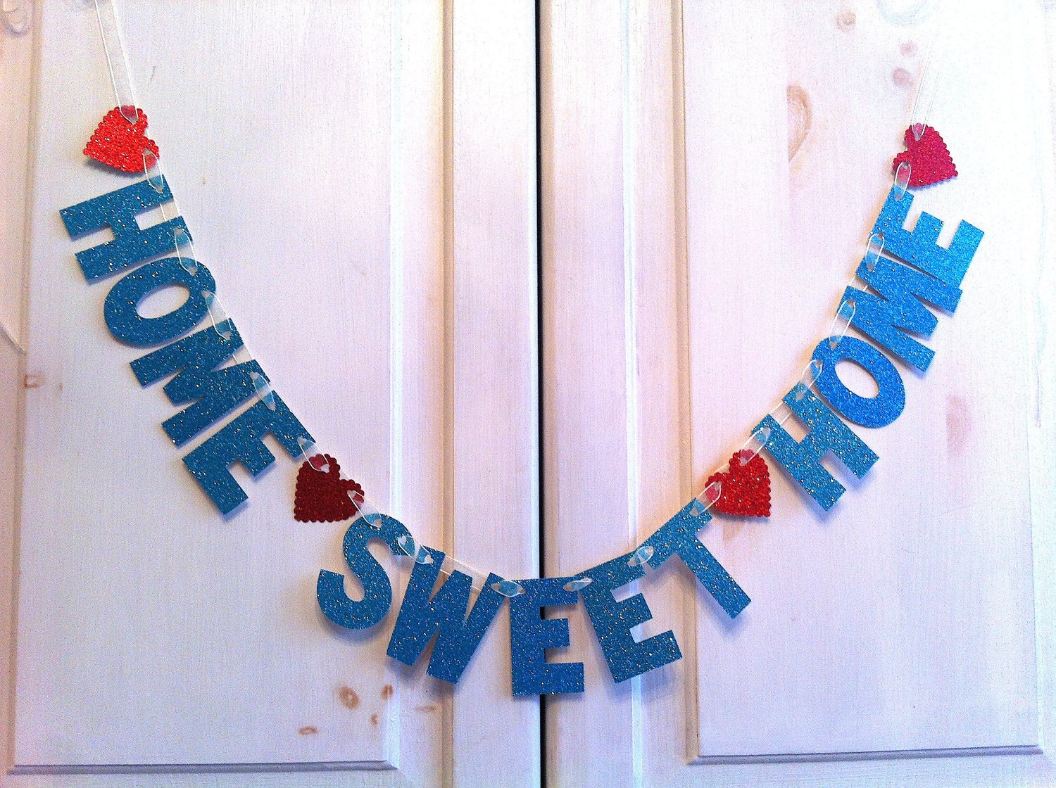 Home sweet home banner decoration photo prop for Photo decoration