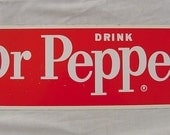 NOS Drink Dr. Pepper Steel Sign