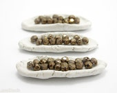 Czech Glass Beads Bronze Fire Polished 6mm Faceted (35)