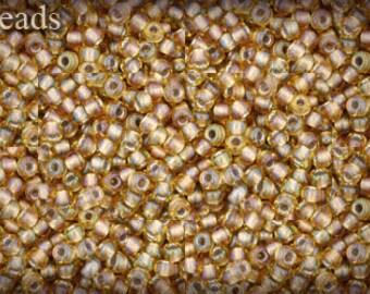 11/0 TOHO seed beads 10g Toho beads 11/0 seed beads Rainbow Lt Topaz Gray 11-279