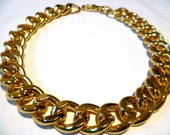 Ultra bold: Chunky Gold Necklace, Chunky jewelry