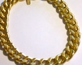Ultra Bold: Chunky Matte Gold Necklace, handmade jewellery