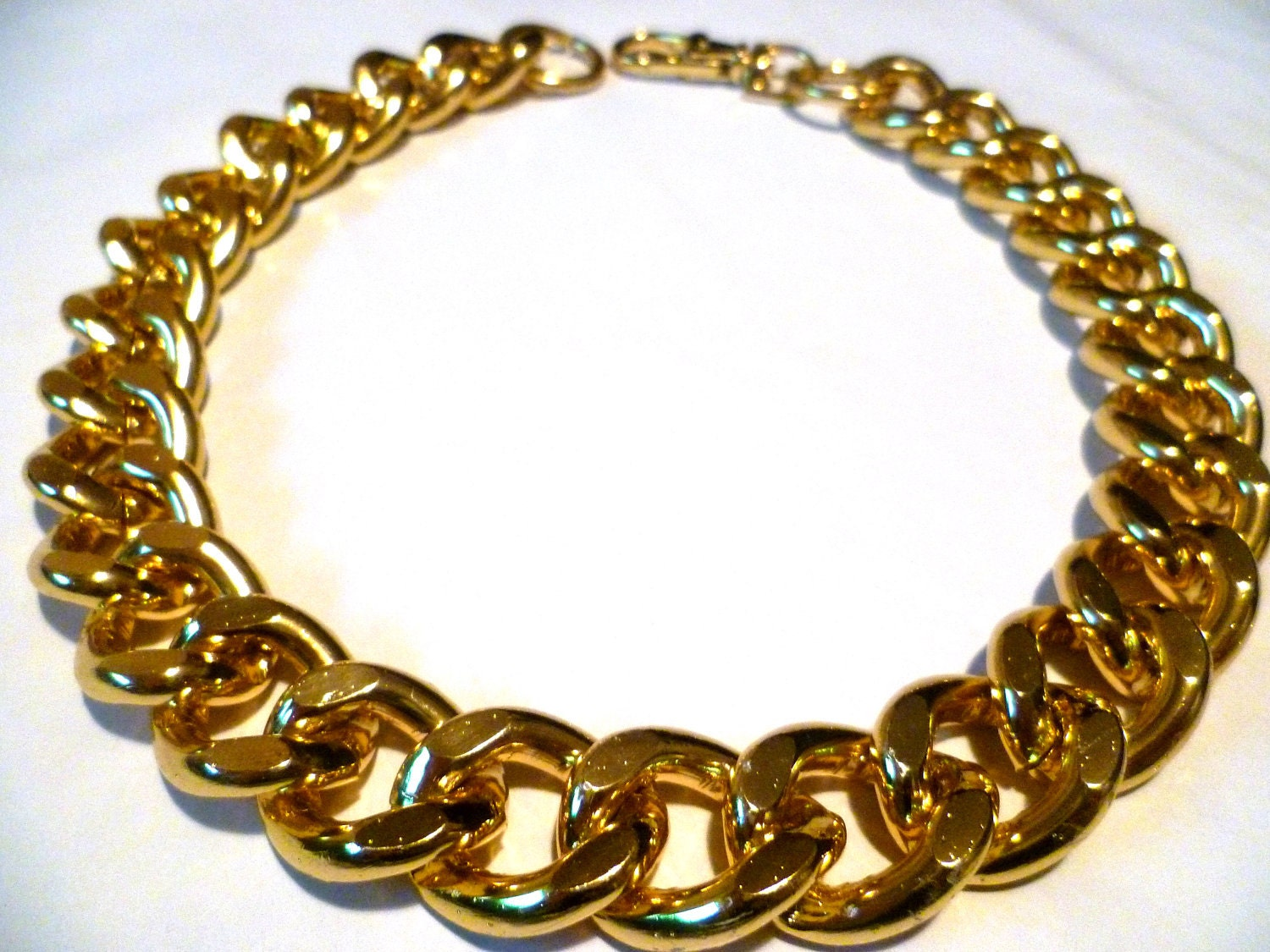 Big Bold Chunky Fashion Necklaces Ultra bold Chunky Gold