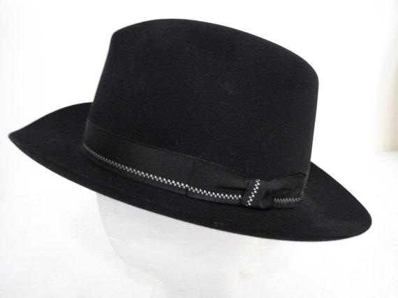 Fedora Vintage Mens Hat by Dobbs Size 7