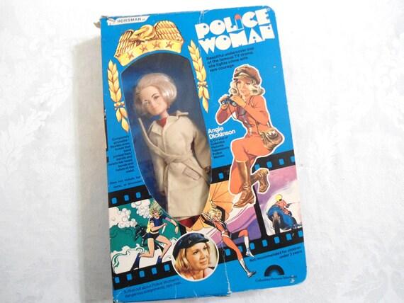 Police Woman Doll 1970s Angie Dickenson MIB