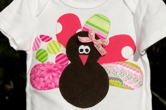 Pretty in Pink Turkey Shirt
