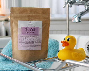 Time Out Soak and Scrub