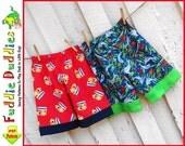 Fuddie Duds Toddler Pants Pattern pdf. Toddler Shorts, Ankle Biter Beach Shorts, Short Shorts, Lounge pants, Ruffle Pants. INSTANT DOWNLOAD