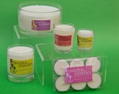 Soya Wax Candles with Pure Essential Oils - Summer Fragrances
