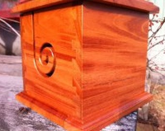 Jumbo Mahogany Yarn Box