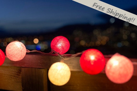 Pretty Pink Light String--- Free Shipping --- limited time offer