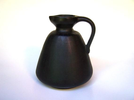 Mid Century Modern Pottery Pitcher