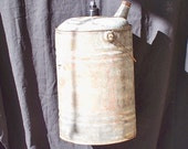 Antique gas can light, re-purposed lighting, industrial lighting, barn style light, upcycled lighting, vintage gas can