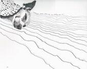SAMPLE Custom Single Pet Portrait - Ruby