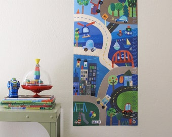 On Track - Personalized Canvas growth chart