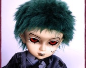 "BJD Fur Wig / Short Punk style / made-to-order in your choice of size and colour / for MSD, SD Cute, Unoa and YoSD sizes(6.7-7.7"")"