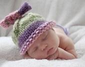Adorable Baby Girl Bow Beanie