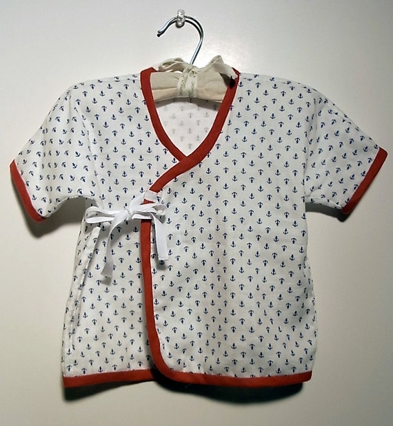 Baby Clothes - Baby Kimono with Japanese fabric / newborn - 6 months, 6 months - 24 month