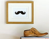 PDF ONLY - Cross stitch kit - mustache