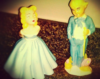 1950's Holland Mold Southern Belle and Gentleman