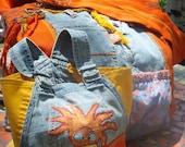 Crossover strap Guatamalian fabric bag