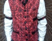 Surgeon's Waist Coat - Made to Order - Limited Quantity Discontinued Fabric