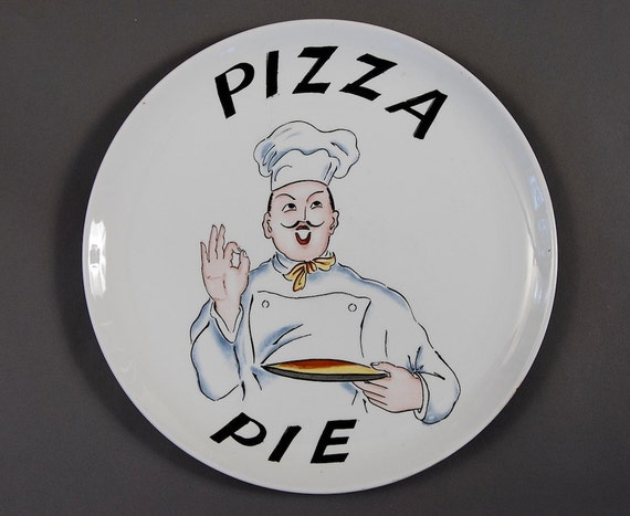 Vintage Pizza Pie Plate1950s