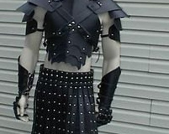 Leather Armor Sentinel Gothic Set  no 2