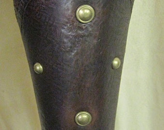Leather Armor Gladiator Bracers Bracers Cuffs