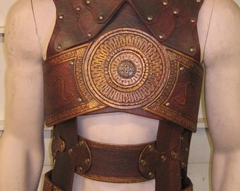Leather Armor Prince of Persia Chest, and Back