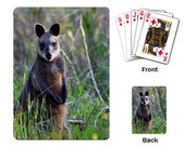 "Playing Cards ""Swamp Wallaby """