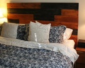 MadeTru Staggered Wood Queen Headboard for Carl
