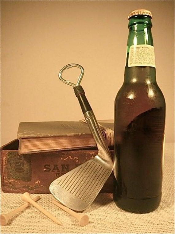 Vintage Golf Club Bottle Opener / 5 Iron Bottle Opener